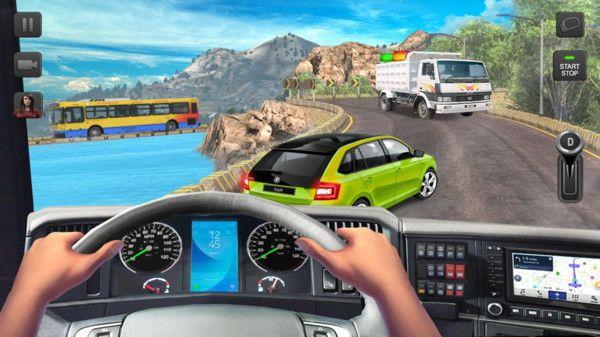 最好玩的卡车驾驶逛戏 大型重卡运输模仿逛戏